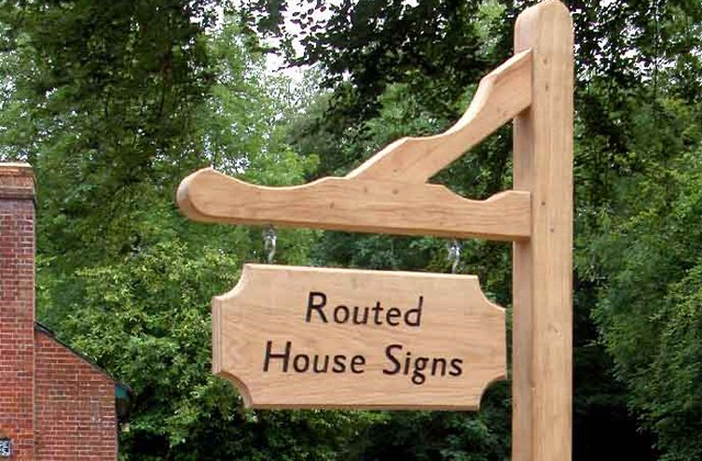 Gallows Style House Sign H Amp G House Signs House
