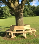 Memorial tree seat Reigate & Banstead Council